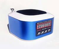 Портативная радио-колонка ws-3188, воспроизведение мр3 и wma файлов, поддержка sd, usb, аккумулятор, fm-канал