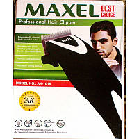 Стрижка в домашних условиях, машинка maxel ak-1016, 5 установок длины, 4 насадки, ножницы, масло для смазки