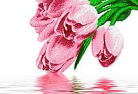 """Схема для вышивки бисером на атласе (цветы) """"Букет для любимой"""" Серия Элит"""