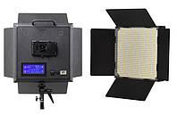 Би-светодиодный постоянный студийный свет Lishuai Fotodiox LED-1000ASV + цифровой диммер