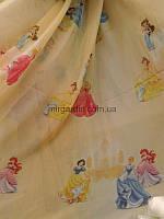 Тюль для детской принцессы дисней