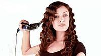 Плойка тройка braun m601c, делает красивую укладку волос волнами, терморегулятор 130-210°с, питание 220в