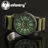 Мужские часы INFANTRY Army Green