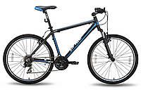 Горный велосипед 26'' PRIDE XC-2.0 черно-синий матовый