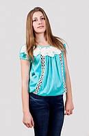Оригинальная женская летняя блуза