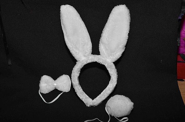Как сделать хвост зайца своими руками из ваты
