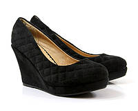Женские стеганние туфли на платформе