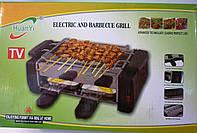 Гриль huanyi, электрический, прибор барбекю для дома/дачи, решетка, противень, 2 маленьких поддона, 220в