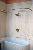 Карниз в ванную комнату из нержавеющей стали
