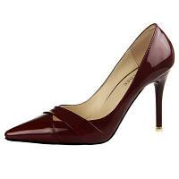 Лакированные туфли  каблук 9 см  6 цветов