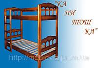 Детская двухярусная кровать Капитошка (Елисеевская Мебель) киев