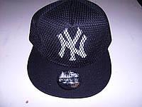 Кепка NY сетка с прямым козырьком Snapback Cap