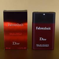 Мужская парфюмерия Christian Dior Fahrenheit пробник 45 мл (сигаретная пачка) ASL