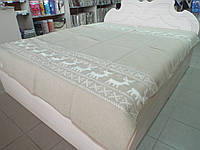 """Одеяло жаккардовое люкс дизайн """"Олени"""""""