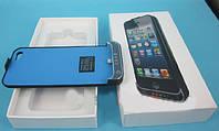Power Bank для мобильного телефона Apple iPhone 5G / 5S 2200 mAh (чехол) Black