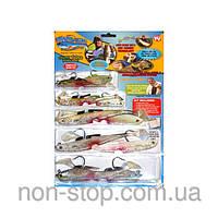 Наживка для рыбалки Майти Байт Mighty Bite мантибайт - 1000130 - наживка для рыб, силиконовые рыбки, приманки на хищника, набор рыбаку, набор наживок