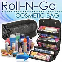 Органайзер для косметики Roll-N-Go - 1000441 - органайзер для косметики, Roll n Go для мелочей, упорядочить косметику и мелочи, косметичка, кофры для