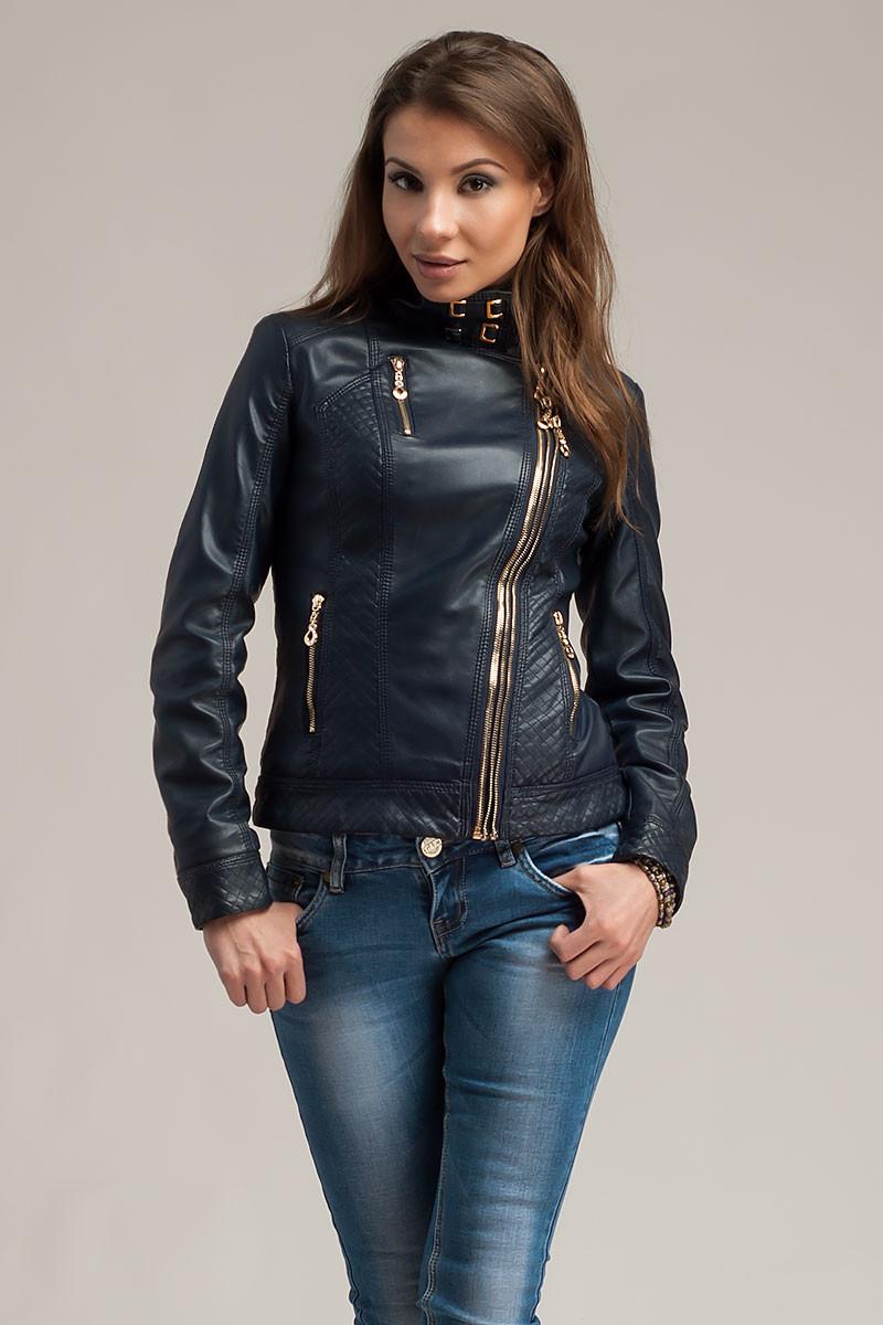 Купить Оптом Куртки Кожзам