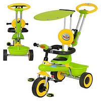 Детский трёхколёсный велосипед M 5366-2 зелёный