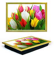 Поднос на подушке Тюльпаны Lap Tray
