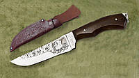 "Охотничий нож,сталь 56-58 HRC ""Парусник"""