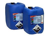 Средство для дезинфекции воды бассейна хлор жидкий Fresh Pool, 24 кг
