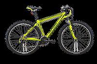 """Горный велосипед 29"""" PRIDE XC-29 V-br зелено-черный матовый"""