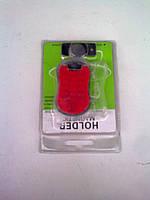 Держатель для мобильного телефона на магните (красный)