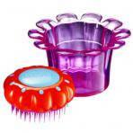 Расческа Tangle Teezer Magic Flowerpot для детей. Фиолетовая.
