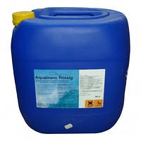 Средство для дезинфекции воды бассейна кислород жидкий. Аквабланк Fresh Pool, 30 кг