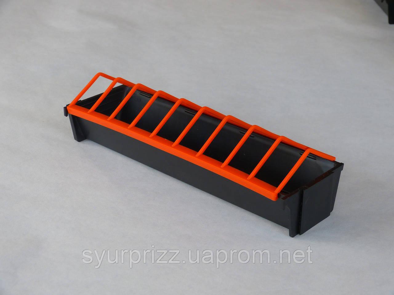 Кормушка лотковая для перепелов, цена 14 грн., купить в Харькове - Prom.ua (ID# 67787905)