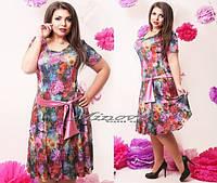 Женское платье Лето, большие размеры