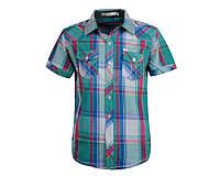 Рубашка для мальчика Glo-story с коротким рукавом; 146, 158 размер