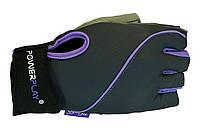 Женские перчатки для фитнеса и тренажерного зала. Серый