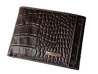 Кошелек мужской коричневый кожаный Karya 0911-57
