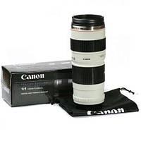 Чашка термос объектив Canon 70-200mm f/4 кружка