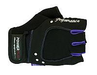 Прочные перчатки из натуральной кожи и ткани. Черный