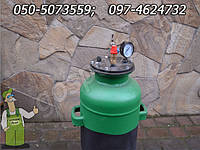 Автоклав для консервирования (изготовлен из газового баллона)