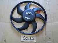 Крыльчатка вентилятора вентилятор радиатора Опель Комбо Opel Combo 2006г. 1.3CDTI