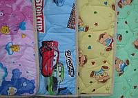 Детское одеяло шерстяное стеганное 100% овечья шерсть 100х140  ТМ Вилюта Украина