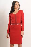 Платье из жаккарда модное и стильное
