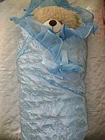 Конверт- одеяло для новорожденных