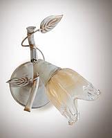 Настенный светильник, бра флористика