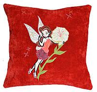 Сувенирная детская подушка с вышивкой