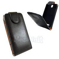 Откидной чехол-флип для HTC One SV C520e Черный