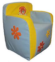 Детское кресло пуф игровое бескаркасная мебель