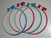 Пяльцы для вышивания с металлическим винтом, диаметр 15 см