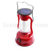 Фонарь лампа аккумуляторный Yajia 5850 TY, 24SMD, динамо, солн. батарея