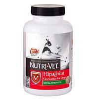 Nutri-Vet СВЯЗКИ И СУСТАВЫ ЭКСТРА (Hip&Joint Extra) глюкозамин хондроитин МСМ для собак 75 таб
