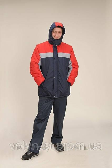 Утеплений робочий одяг куртка кока